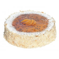 Baked Peach & Passionfruit...