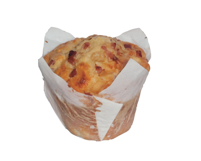 Bacon, Cheese & Onion Muffin