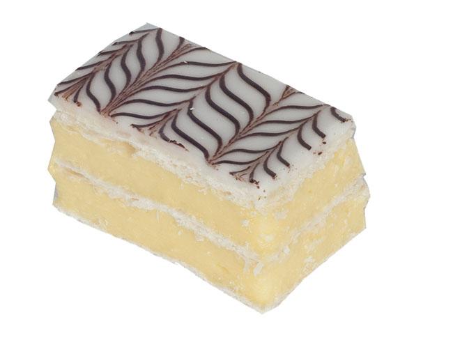 Continental Vanilla Slice