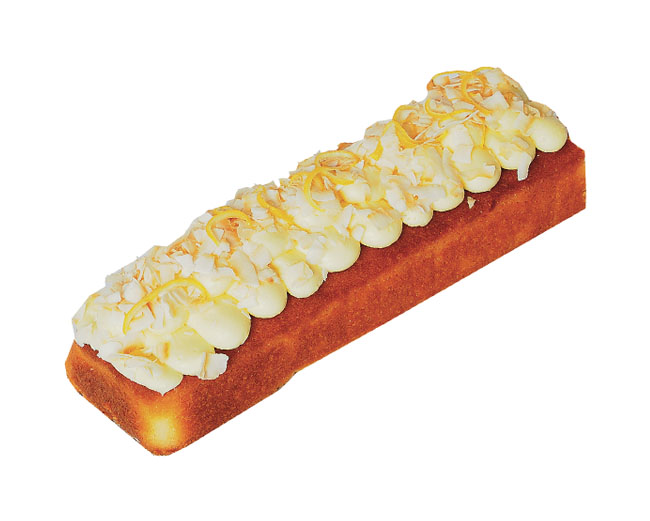 Lemon Coconut Log