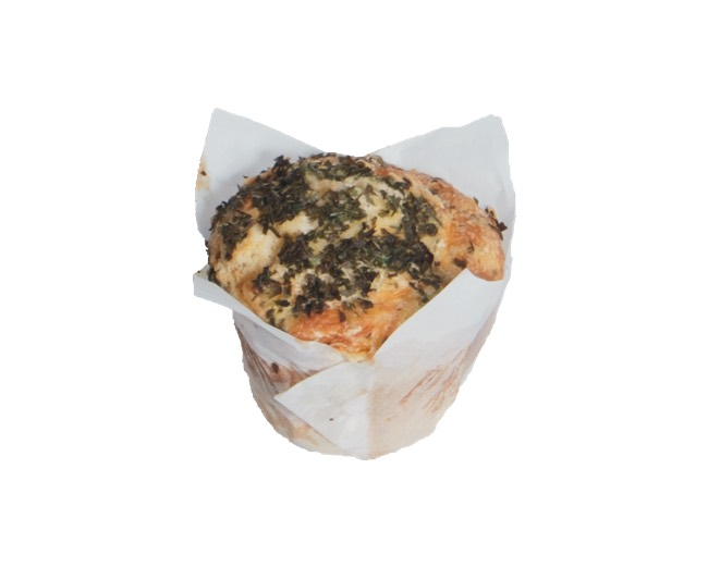 Cheese Chive and Onion Muffin