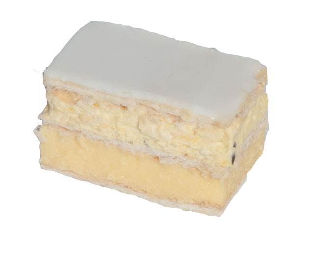 Passion & Mango Vanilla Slice